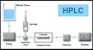 High Performance Liquid Chromatography Diagram