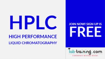 Free Course on High Performance Liquid Chromatography