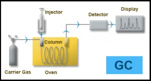 Gas Chromatography Diagram