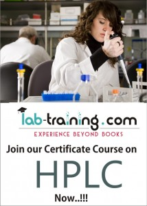 Join our certificate course on HPLC