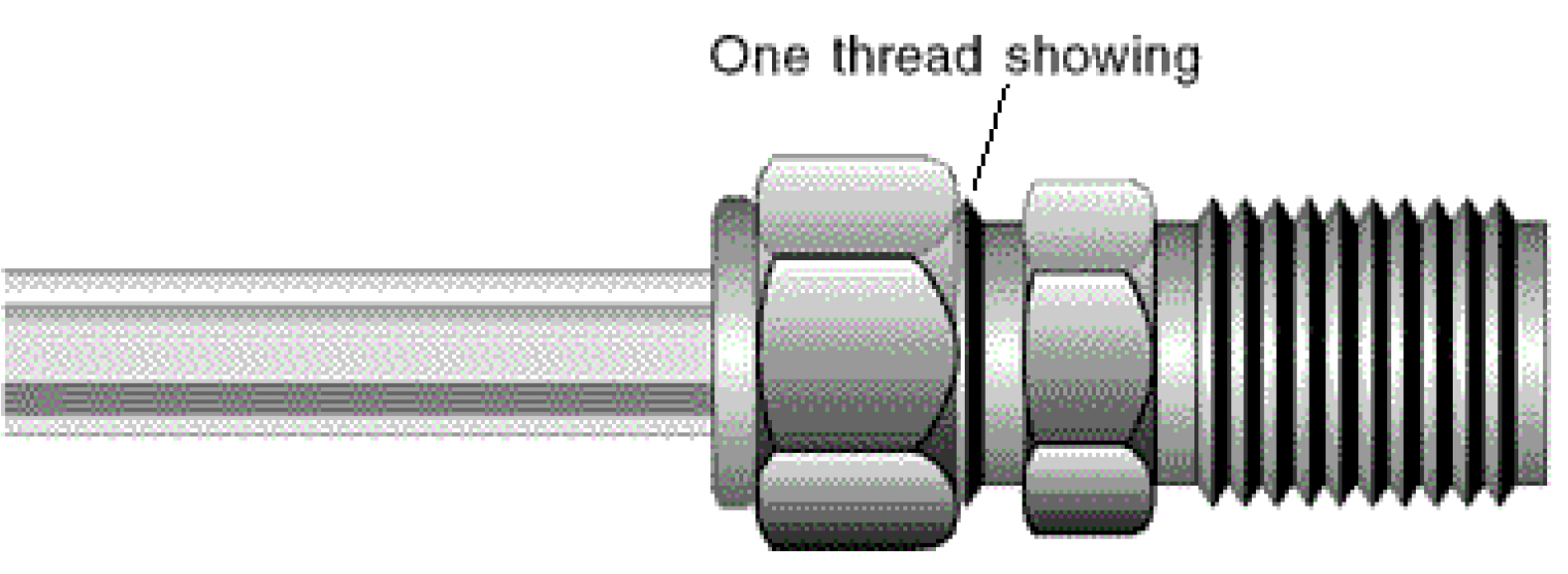 A-properly-tightened-compression-fitting