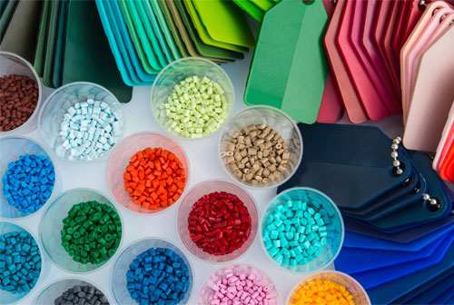 What is the basis of colour of substances?