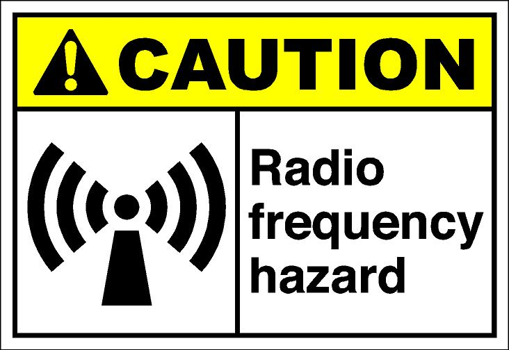 cautH234 - radio frequency hazard
