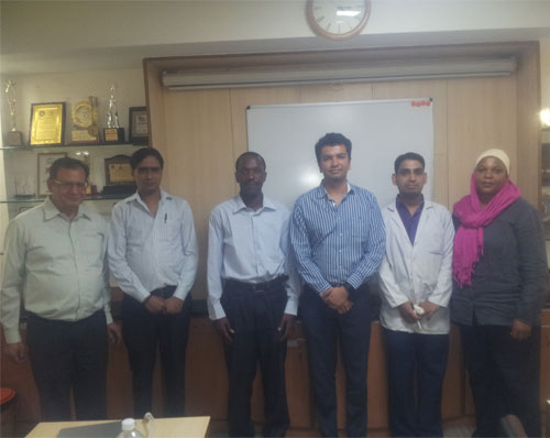 Training programme on 'Sterility Testing using Sterile Room HVAC and Microbiological assay of Antibiotics'
