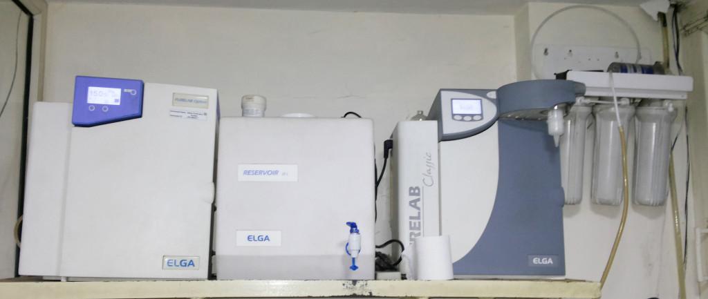 Elga water purification system