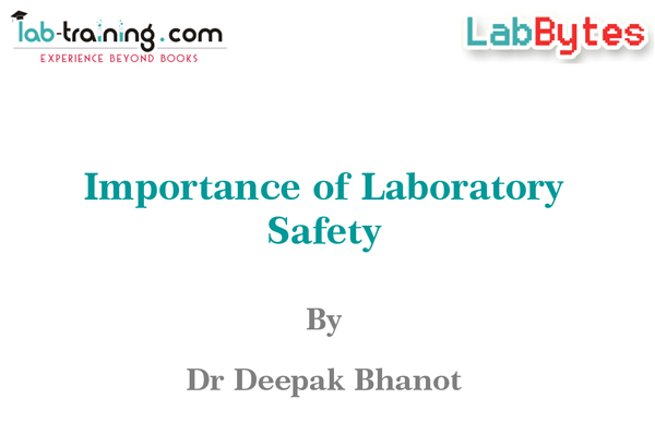 Importance of Laboratory Safety