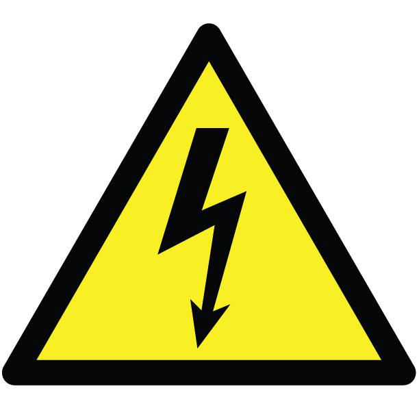 Electrical-Hazard-warning-Sign