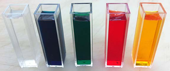 How to select the right cuvette material for UV- VIS absorbance studies?
