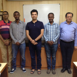 Testimonial on training program organized for trainees from EFMHACA, Ethiopia