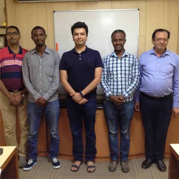 Testimonial on training program organized for trainees from EFMHACA, Ethiopia
