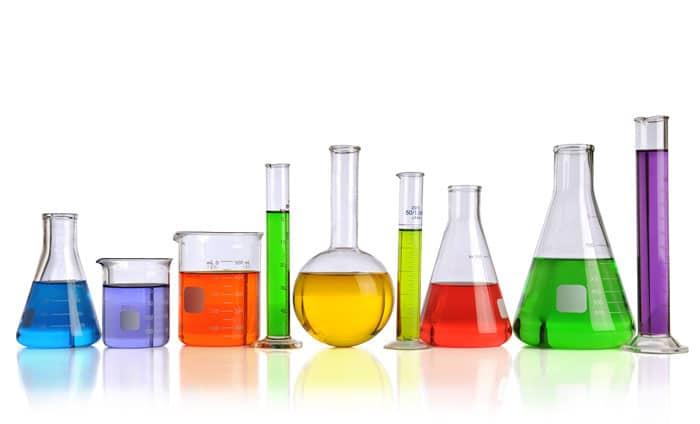 Common laboratory glassware