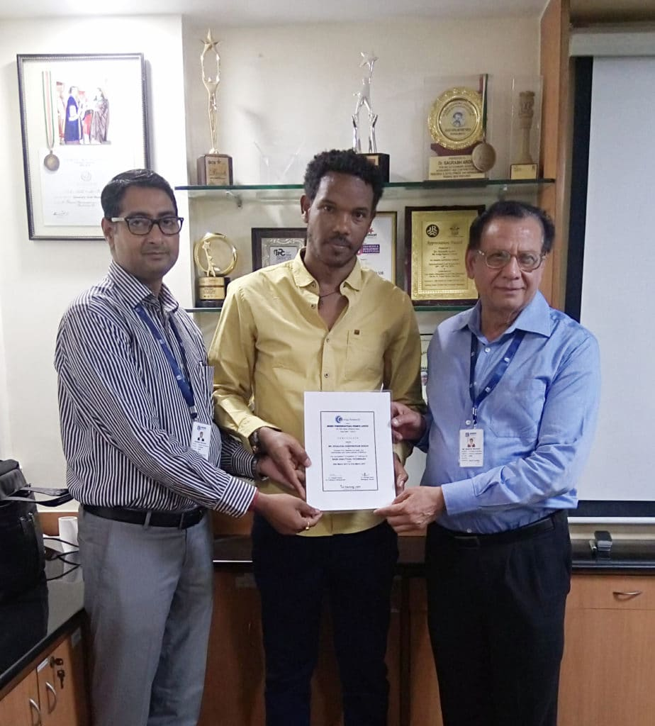 Training on Basic Analytical Techniques and Microbiological testing for trainees from EFMHACA, Ethiopia 20th March- 31st March, 2017