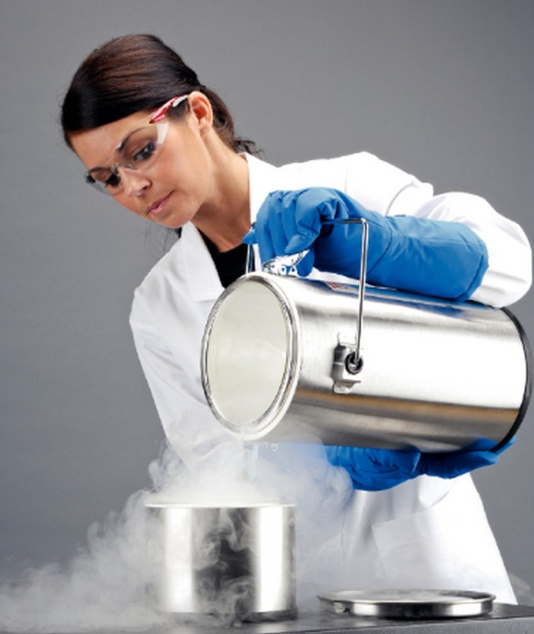 Safe handling practices for laboratory Cryogens