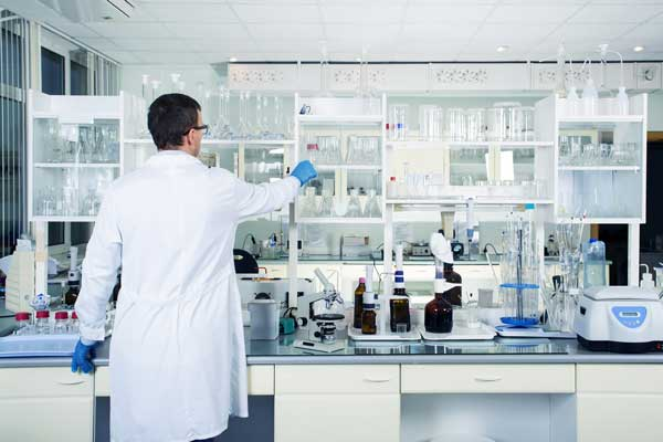 Clean and well organized laboratory
