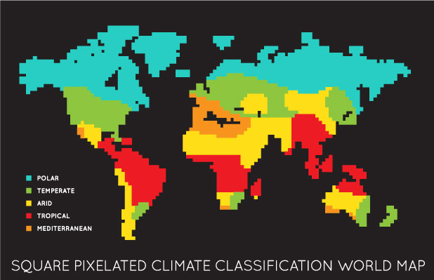 World Climatic zones