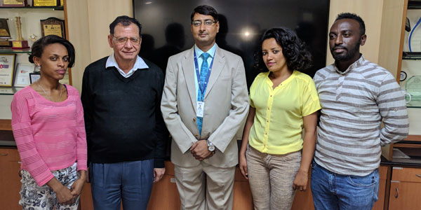 Ms. Helina,Dr. Deepak Bhanot,Mr. Manish Ranjan,Ms. Bekelu, Ms. Helina, Mr. Gashaw