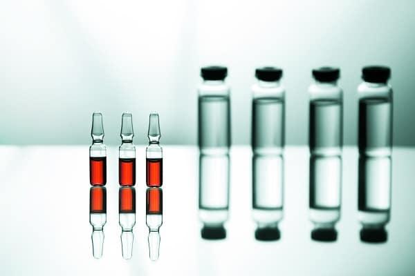 Standard vials and bottles