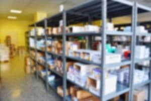 Well maintained laboratory stores