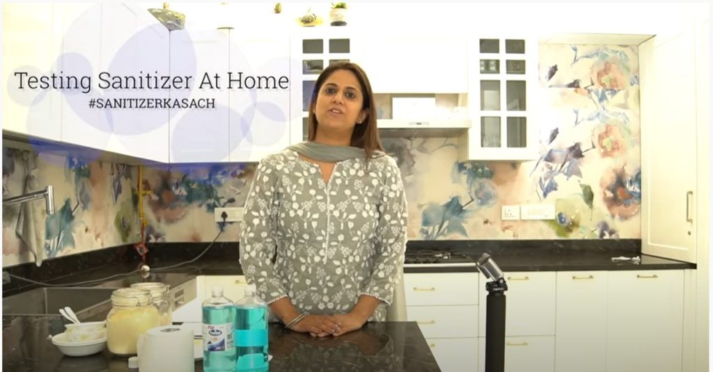 How to test a hand sanitizer at home? 3 Easy Simple Tests!