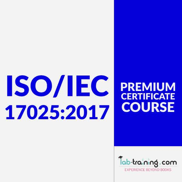 Certificate Course on ISO/IEC 17025:2017
